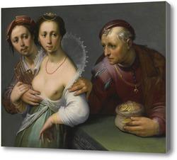 Купить картину Выбор между молодым и старым, 1597