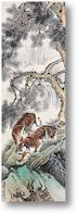 Картина Два тигра