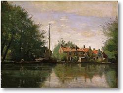 Картина Вид Голландии
