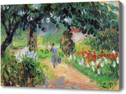 Картина Аллея в саду Эраньи