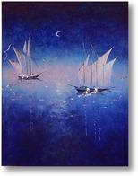 Картина Голубая путина