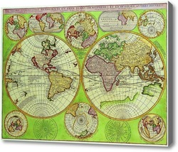 Картина Карта