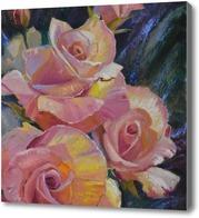 Картина Солнечные розы