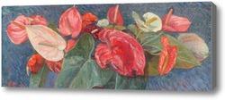 Картина Цветы от дворца Фреденсборг