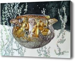 Картина Золотая скифская ваза