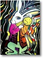 Картина Белый кролик