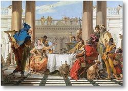 Картина Пир Клеопатры