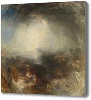 Картина Тени и тьма-Вечер Великого потопа