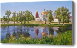 Картина Киров калужский. Александро-Невский храм