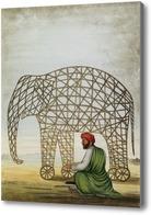 Картина Изготовление элемента для фейерверка