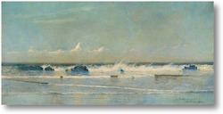 Картина Морской пейзаж, Сент-Ив, 1890