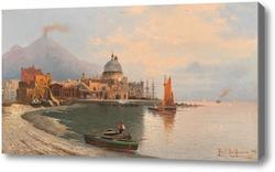 Картина Торре-дель-Греко, Неаполь