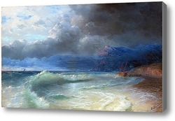 Картина Кораблекрушение.Бурное утро