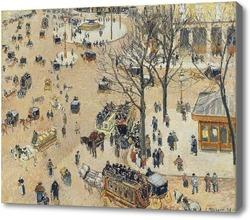 Картина Площадь около французского театра