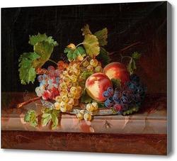 Картина Натюрморт с фруктами.Вегмаер Себастьян