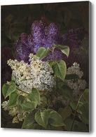 Картина Белая и Фиолетовая сирень
