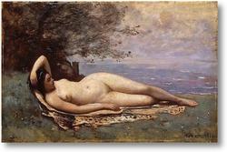 Картина Вакханка у моря