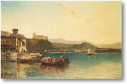 Картина Арона, Озеро Маджоре