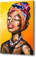 Картина Женщина Африки