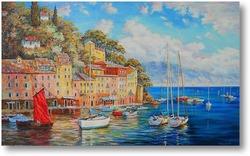 Картина Портофино. Италия