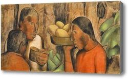 Картина Продавцы манго