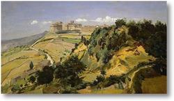 Картина Крепость в Вольтерре