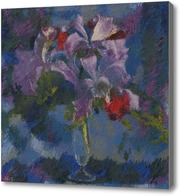 Картина Орхидеи на голубом фоне, 1938