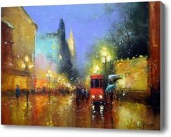 Картина Ночной Арбат