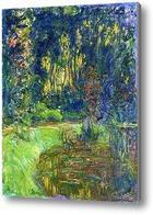 Картина Пруд с водяными лилиями