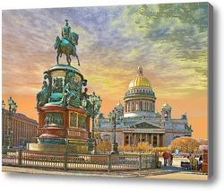 Картина Санкт-Петербург. Исакиевский собор.