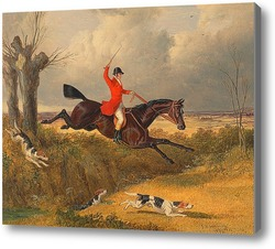 Картина Охота на лис