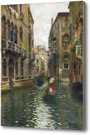 Картина Семейный пикник на Венецианском канале