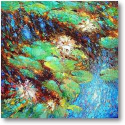 Картина Пруд с лилиями