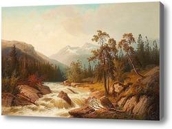 Купить картину Горная река