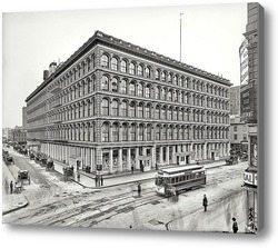 Купить картину Нью-Йорк 1906 г.