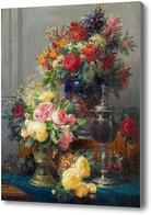 Картина Весенние цветы в вазе