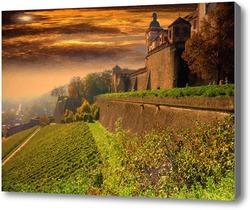 Картина Замок в Баварии.