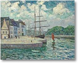 Купить картину Порт Оре, с. 1905