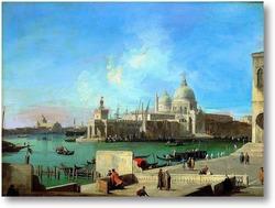 Картина Вид на Санта Мария делла Салюте