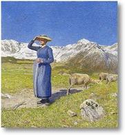 Картина Полдень в Альпах