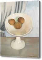 Картина Натюрморт с фруктовой чашей, 1937