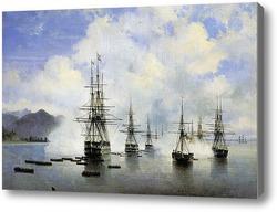 Картина Десант Н.Н.Раевского у Субаши 1839