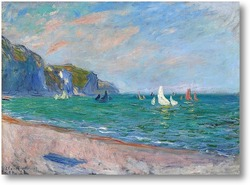 Картина Яхты возле моря в Пурвиле, 1882