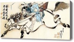 Картина Taiso Yoshitoshi
