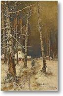 Картина Путешествуя по снегу