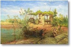 Картина На берегу Нила