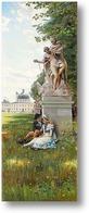 Картина Романтическая сцена из парка Фреденсборга