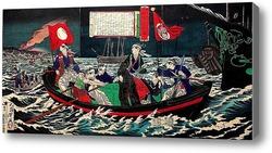 Картина Спасение Токагоы Иошинобу