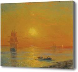 Картина Возвращение в корабль