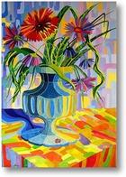 Картина Солнечная ваза